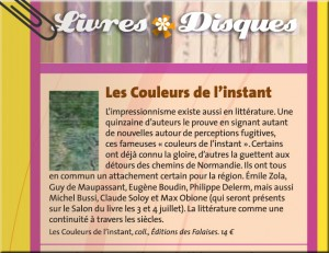 Rouen Magazine Les Couleurs de l'instant