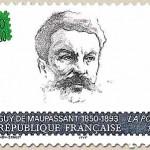 timbre Guy de Maupassant