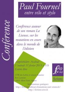 conférence de Paul Fournel