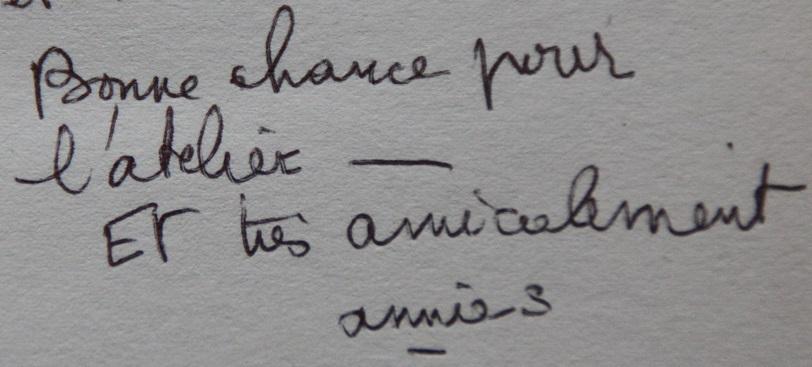 mot d'Annie Saumont