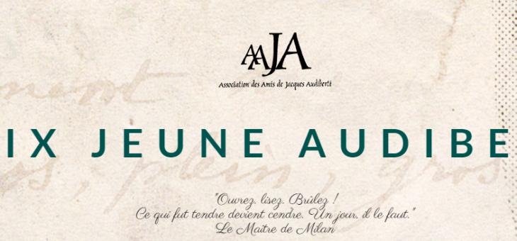 «Ecrivez musclé, écrivez avec vos poings» : prix Jacques Audiberti
